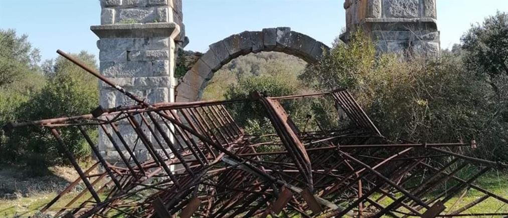 Ρωμαϊκό υδραγωγείο στη Μόρια: μελέτη για την αξιολόγηση της κατάστασής του (εικόνες)