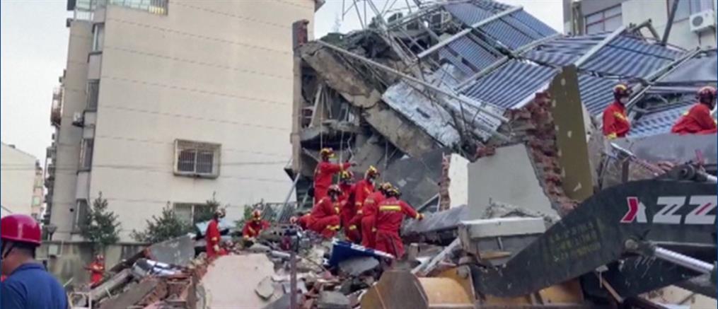 Κίνα: Φονική κατάρρευση ξενοδοχείου (εικόνες)