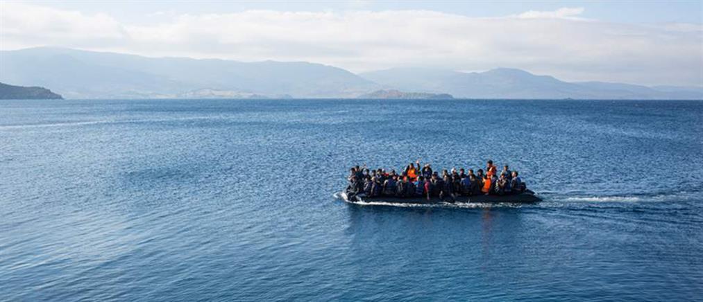 Μπαράζ διασώσεων μεταναστών στο Αιγαίο