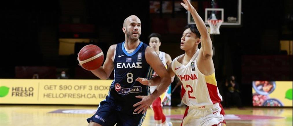 Προολυμπιακό τουρνουά: Η Ελλάδα συνέτριψε την Κίνα