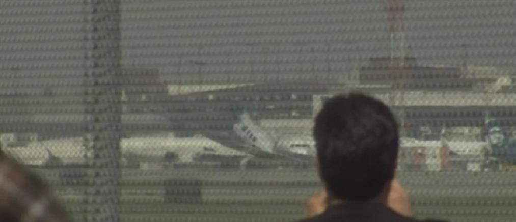 """Αεροσκάφος προσγειώθηκε με την """"κοιλιά"""" (βίντεο)"""