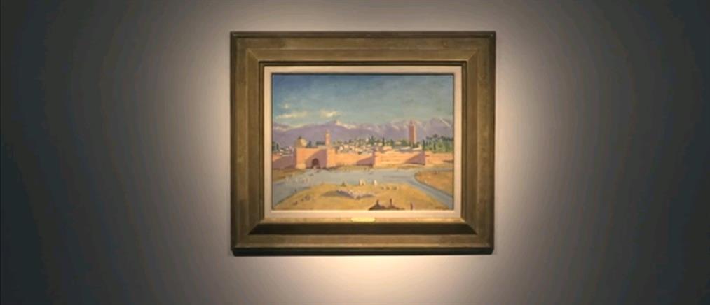 Η Τζολί πούλησε ιστορικό πίνακα του Τσόρτσιλ σε τιμή ρεκόρ (εικόνες)