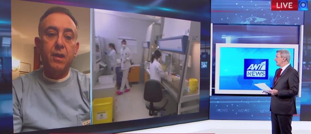Κέλλας στον ΑΝΤ1: με συνδυασμό φαρμάκων νίκησα τον κορονοϊό (βίντεο)
