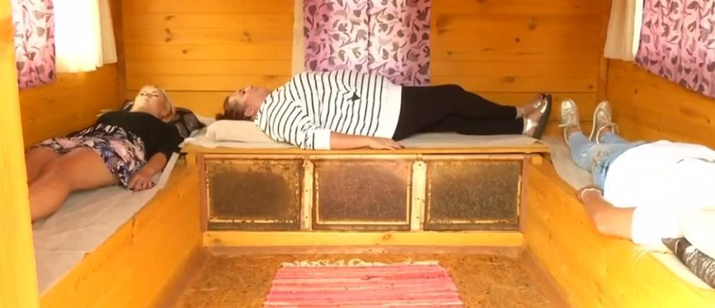 Θεραπεύουν τους πόνους του με…μέλισσες (βίντεο)