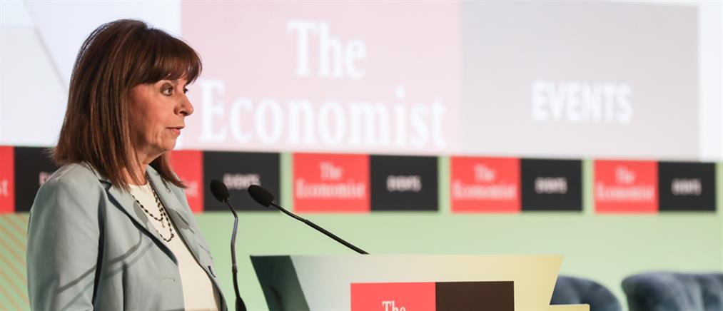 Economist - Σακελλαροπούλου για κλιματική αλλαγή: ανάγκη για υπερεθνικές δράσεις