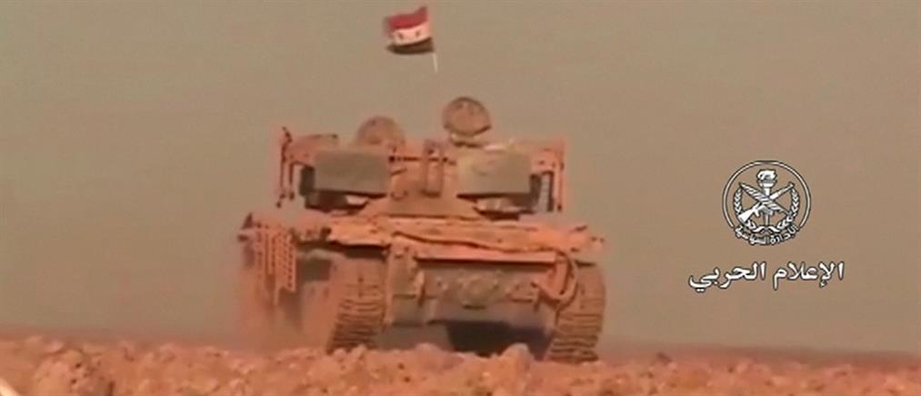Σκληρές μάχες στη νότια Συρία (βίντεο)