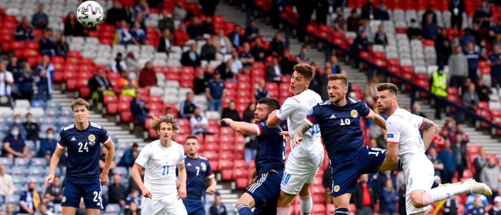 Euro 2020: Η Τσεχία νίκησε την Σκωτία (βίντεο)