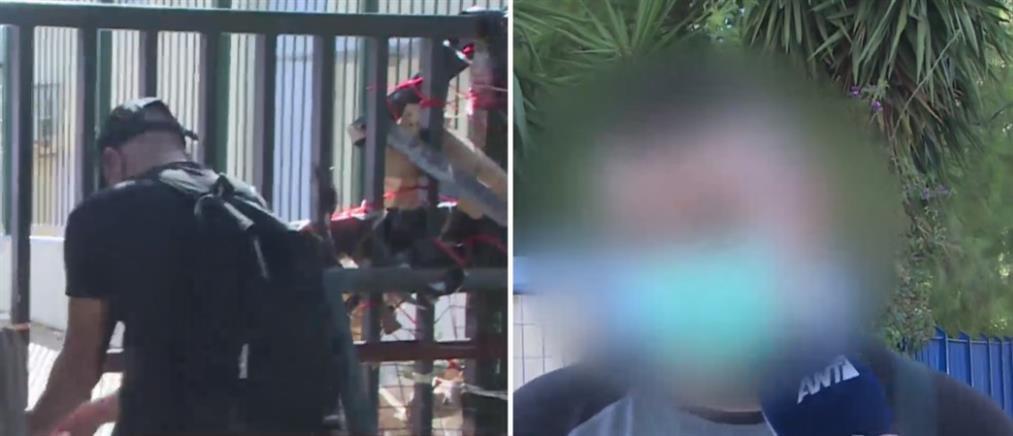 Επεισόδια σε υπό κατάληψη σχολείο (βίντεο)