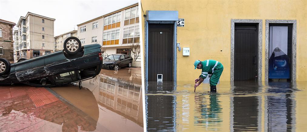 Καταιγίδα Έλσα: μετρά νεκρούς η Ευρώπη