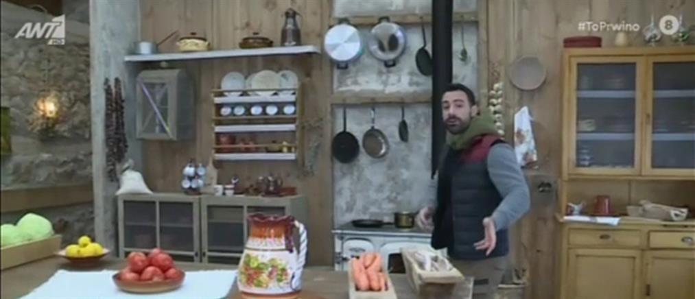 """""""Η Φάρμα"""": Ο Σάκης Τανιμανίδης μας ξεναγεί στο σπίτι των """"αγροτών"""" (βίντεο)"""