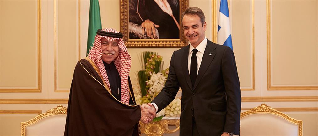 Σαουδάραβας Υπουργός σε Μητσοτάκη: σημάδι ελπίδας ότι επιστρέφουν οι επενδύσεις στην Ελλάδα