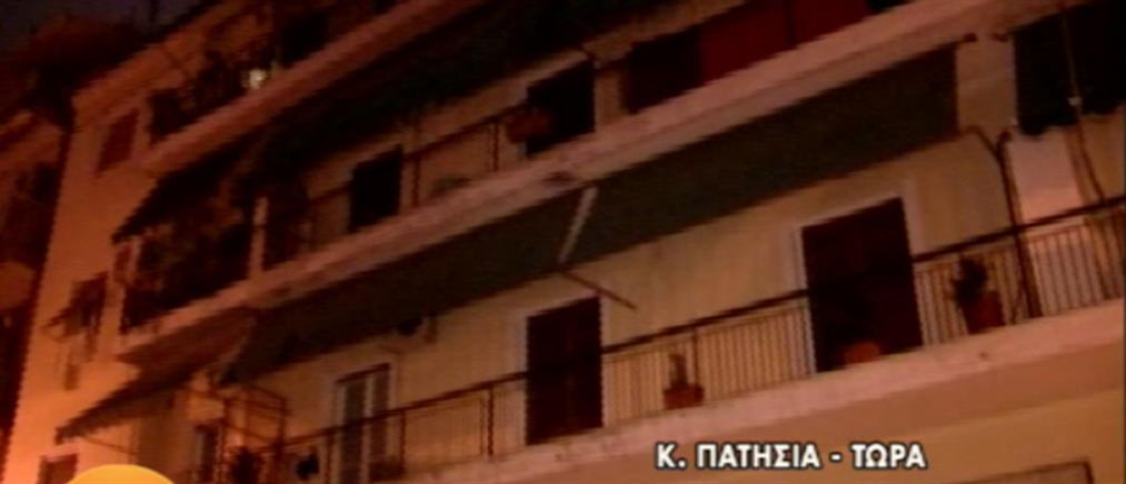 Απεγκλωβισμός άνδρα από φλεγόμενο διαμέρισμα στα Κάτω Πατήσια (βίντεο)