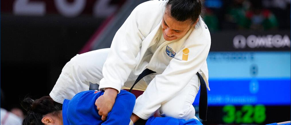 """Ολυμπιακοί Αγώνες – τζούντο: Η Τελτσίδου στις """"8"""" πανηγυρικά"""