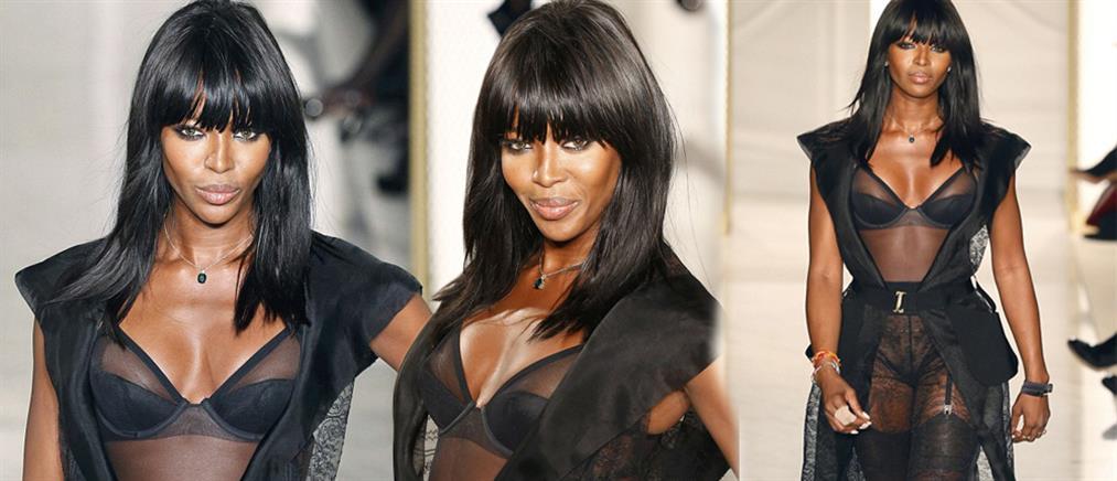Ναόμι Κάμπελ: Γιατί είπε όχι σε επίδειξη μόδας μόνο με μαύρα μοντέλα
