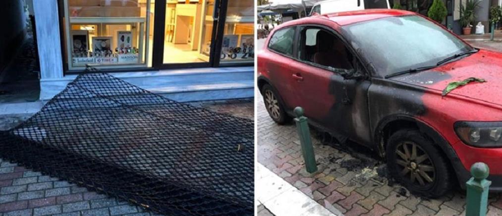 Κινηματογραφική ληστεία: ξήλωσαν ρολά κοσμηματοπωλείου με αυτοκίνητο!