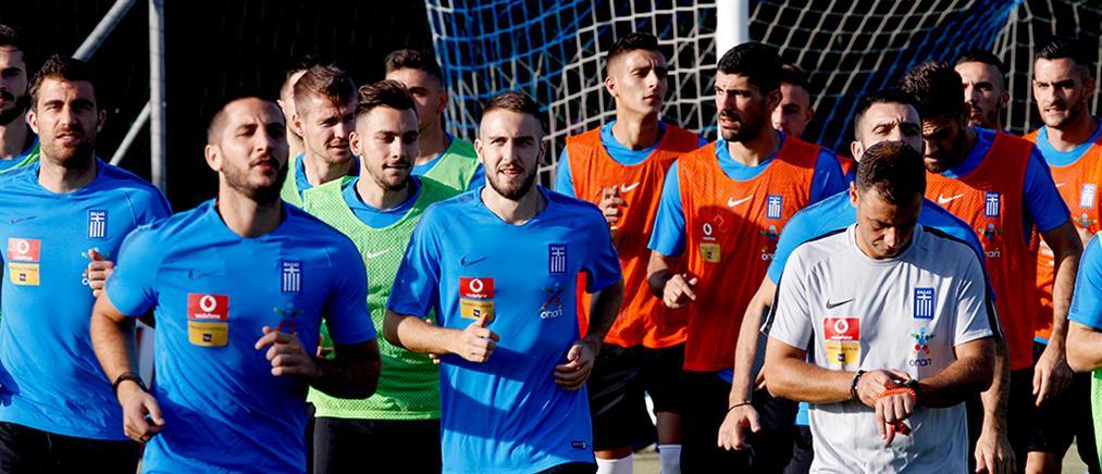 Έτοιμη η Εθνική Ελλάδος για το Nations League (εικόνες)