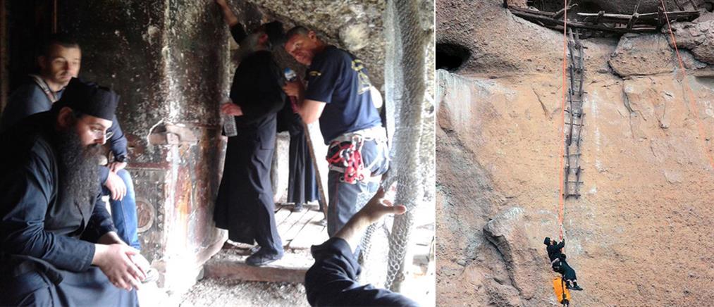 Μοναχοί έγιναν «κομάντο» για ένα τάμα
