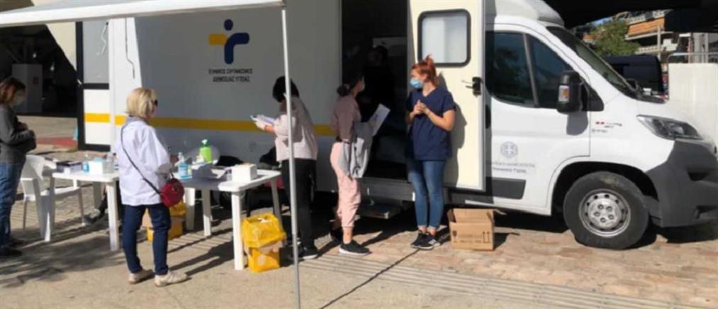 Κορονοϊός: τι έδειξαν τα rapid test στο Μαρούσι