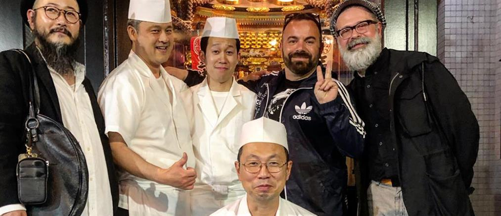 """""""StrEAT Food"""": ο Βασίλης Καλλίδης στο Τόκιο (εικόνες)"""