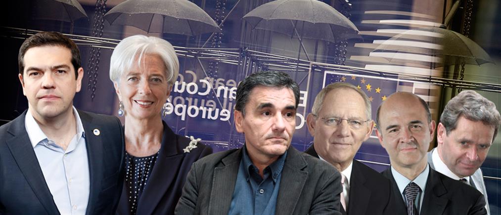 """Το ΔΝΤ """"στοιχειώνει"""" το Eurogroup"""