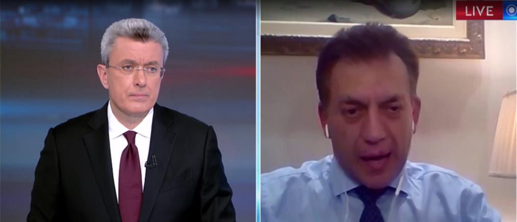 Βρούτσης στον ΑΝΤ1:  ανεύθυνη η κριτική του ΣΥΡΙΖΑ για τα μέτρα της κυβέρνησης (βίντεο)