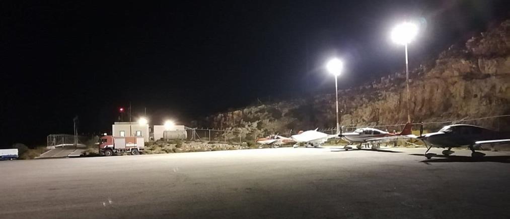 Cirrus Rally - Καστελλόριζο: Άναψαν τα φώτα στο αεροδρόμιο μετά απο χρόνια (εικόνες)