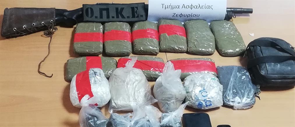 Ηρωίνη: 7 κιλά βρέθηκαν σε σπίτι στο Ζεφύρι (εικόνες)
