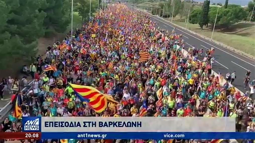 Τεταμένη η κατάσταση στην Καταλονία
