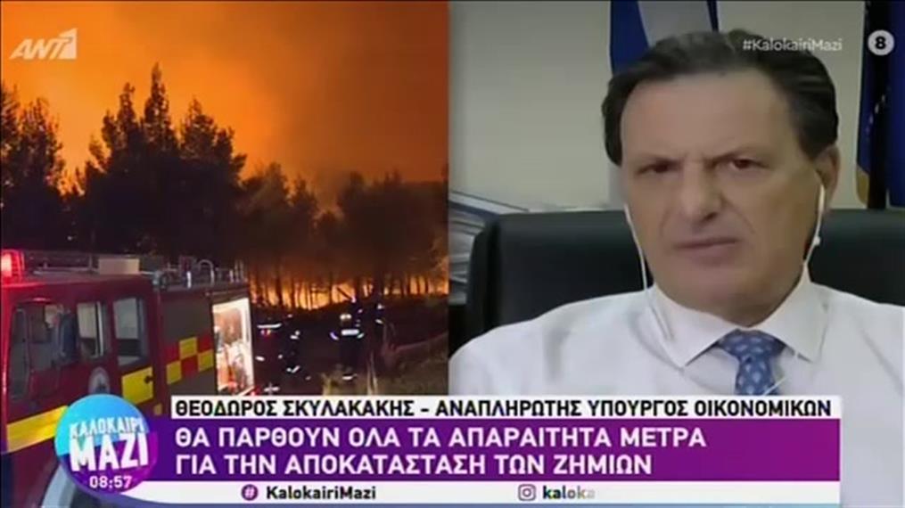 """Ο Θεόδωρος Σκυλακάκης στο """"Καλοκαίρι Μαζί"""""""