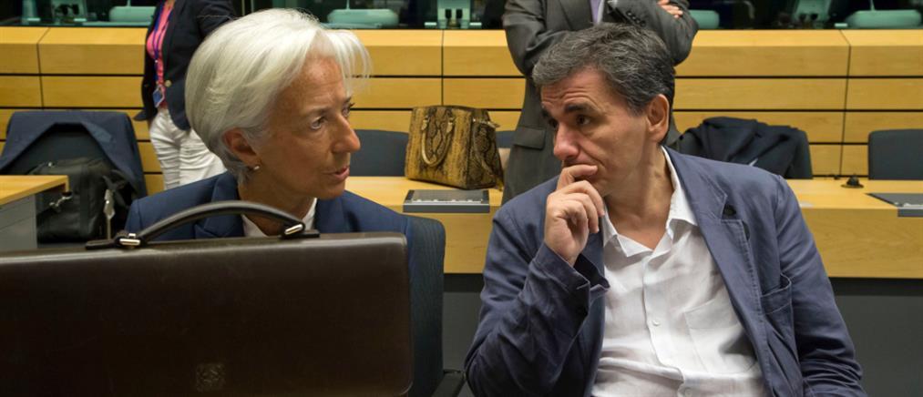 Τετ α τετ Τσακαλώτου - Λαγκάρντ για το χρέος στο ΔΝΤ