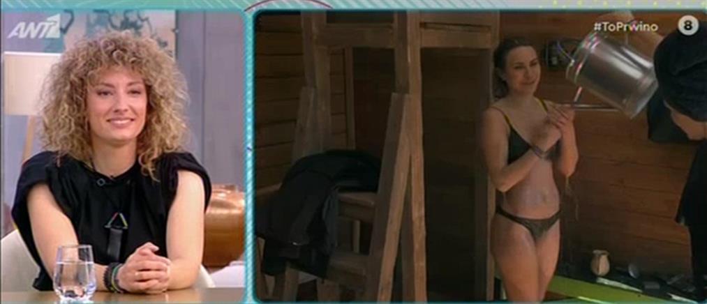 """""""Η Φάρμα"""": η Μαρία Σπυροπούλου στο """"Πρωινό"""" (βίντεο)"""