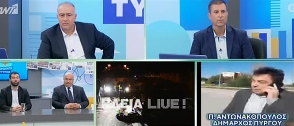 Αντωνακόπουλος στον ΑΝΤ1: Η εθνική Πύργου – Πατρών είναι ο πιο φονικός δρόμος της Ευρώπης (βίντεο)