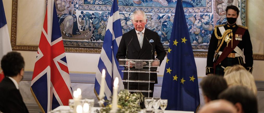 25η Μαρτίου - Πρίγκιπας Κάρολος: Χαίρε, ω χαίρε, ελευθεριά! Ζήτω η Ελλάς!