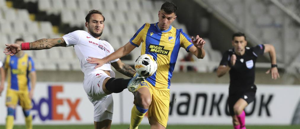 """Europa League: Με πανηγυρικό τρόπο """"σφράγισε"""" την πρόκριση ο ΑΠΟΕΛ"""