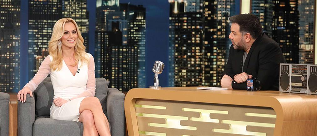 """Η Ντορέττα Παπαδημητρίου στο """"The 2Night Show"""" για την αλλαγή του ονόματος της και τον… επόμενο γάμο της (βίντεο)"""