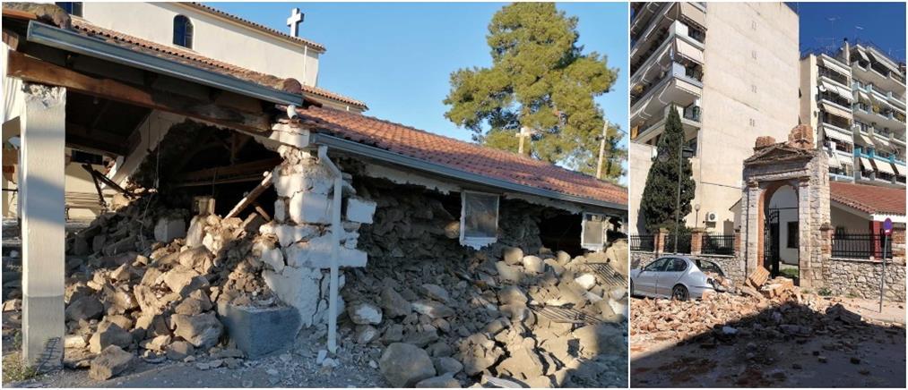 Σεισμός στην Ελασσόνα: ζημιές σε μνημεία και μουσεία (εικόνες)