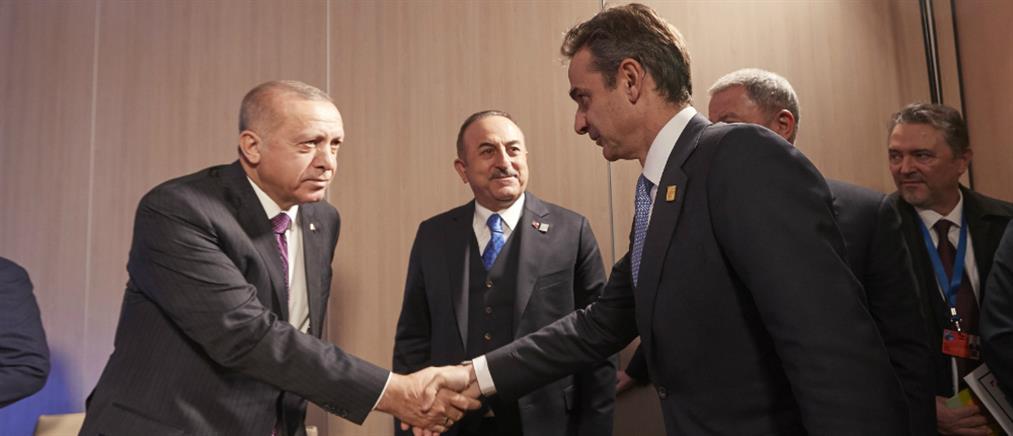ΣΥΡΙΖΑ: επιεικώς ατυχής η δήλωση Μητσοτάκη μετά την συνάντηση με τον Ερντογάν