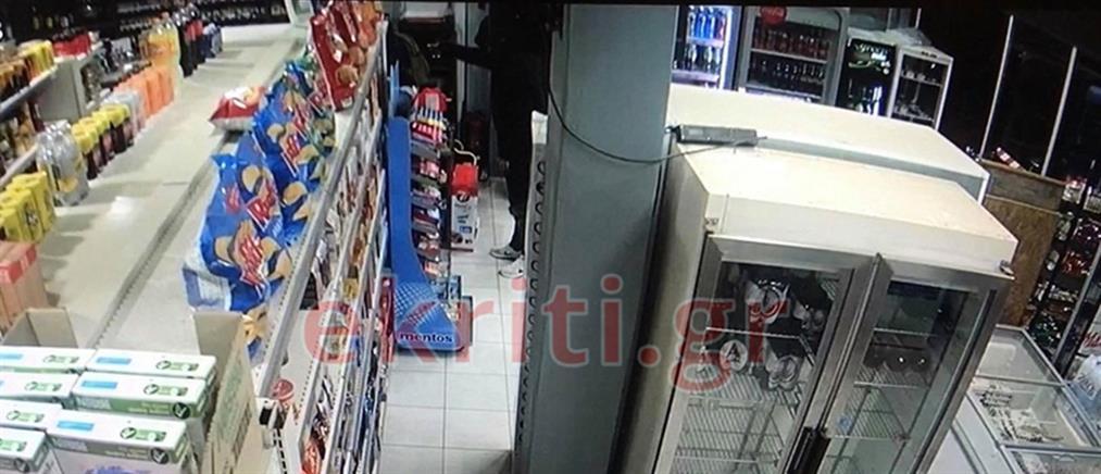 Ένοπλη ληστεία σε μίνι μάρκετ (εικόνες)