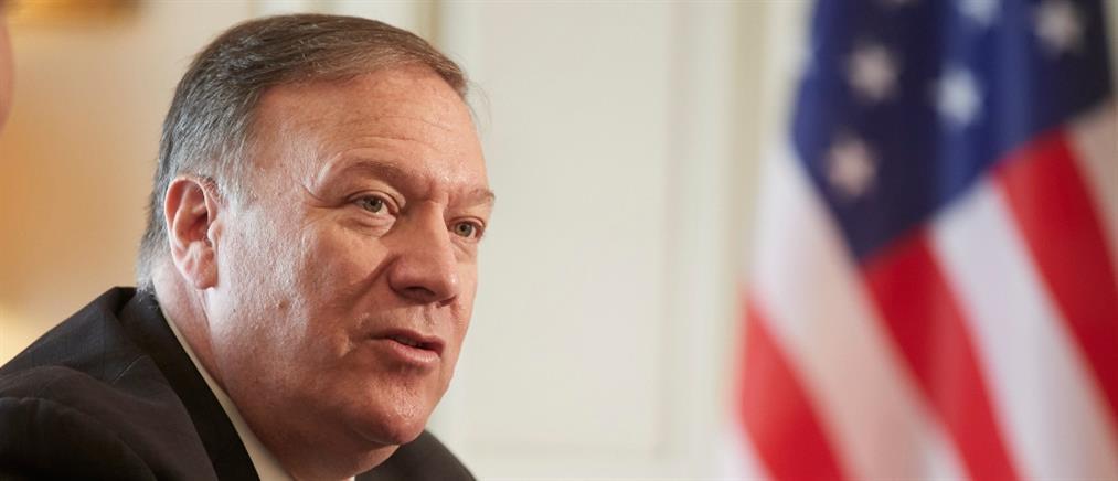 Μήνυμα Πομπέο για στήριξη των ΗΠΑ στην Κύπρο