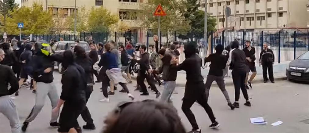 Σταυρούπολη: επίθεση σε φοιτητές με πέτρες και κοντάρια (εικόνες)