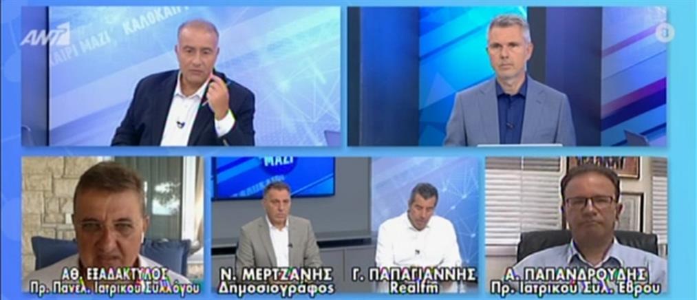 Κορονοϊός - Εξαδάκτυλος στον ΑΝΤ1: Εξαιρετικά δυσοίωνες οι προβλέψεις για την Ελλάδα (βίντεο)