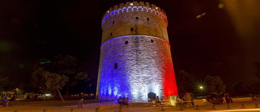 Στα χρώματα της Γαλλίας μνημεία σε όλο τον κόσμο
