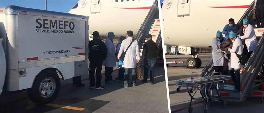 Νεκρός επιβάτης πτήσης που είχε καταπιεί σακουλάκια με κοκαΐνη (εικόνες)
