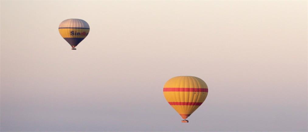 Κορονοϊός: Γάμος σε...αερόστατο