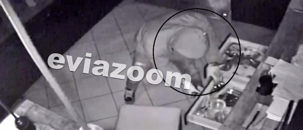 Βίντεο - ντοκουμέντο από την διάρρηξη καφετέριας
