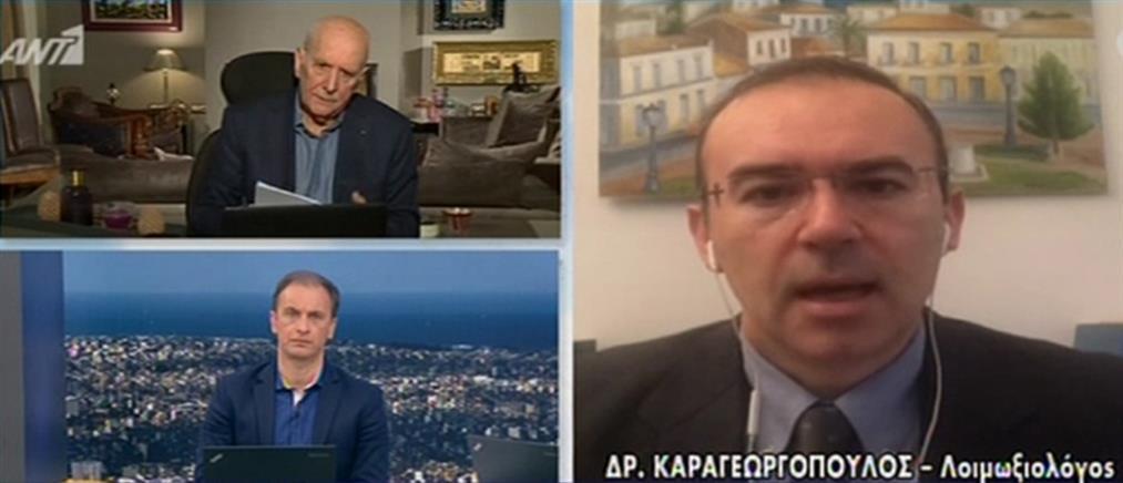 Καραγεωργόπουλος: Κοινωνική συνείδηση και μετά τη χαλάρωση των μέτρων (βίντεο)
