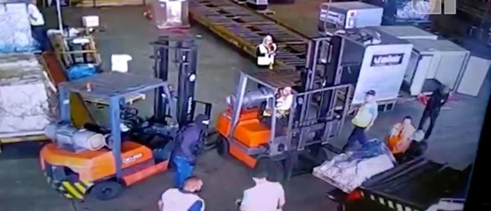 Κινηματογραφική ληστεία σε αεροδρόμιο της Βραζιλίας (βίντεο)