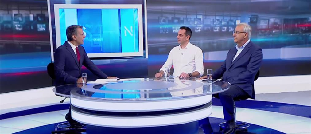 Εθνικές Εκλογές 2019: Σακελλάρης – Σταυριανουδάκης στον ΑΝΤ1