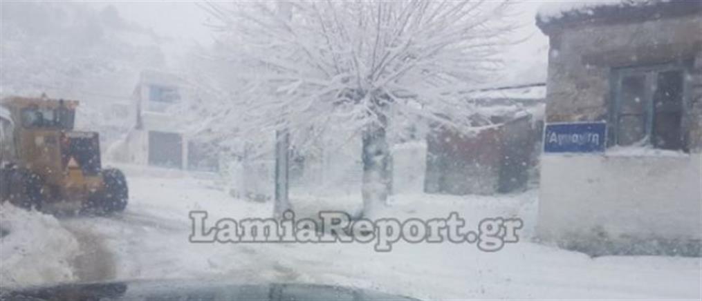 Επιχείρηση διάσωσης εκδρομέων στη χιονισμένη Άγναντη