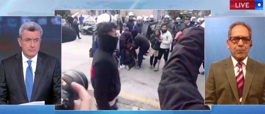 Χατζηκομνηνός στον ΑΝΤ1: Μετά την επίσκεψη του ΣΥΡΙΖΑ βγήκαν οι πρόσφυγες στους δρόμους (βίντεο)
